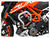 ZIEGER CRASHBAR KTM 990 DUKE 18-, SILVER